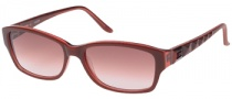 Guess GU 7061 Sunglasses Sunglasses - BU-52: Burgundy