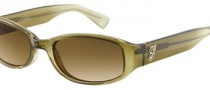 Guess GU 7066P Sunglasses Sunglasses - BRN-1: Transparent Brown