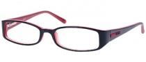 Guess GU 1393 Eyeglasses Eyeglasses - BLKRD: Black On Red 