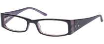 Guess GU 1589 Eyeglasses Eyeglasses - BLK: Black