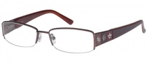Guess GU 1647 Eyeglasses Eyeglasses - LBRN: Light Brown
