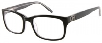 Guess GU 1687 Eyeglasses Eyeglasses - BLK: Black Over Grey