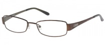 Guess GU 2200 Eyeglasses Eyeglasses - BRNGRN: Brown / Green