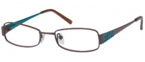 Guess GU 9024 Eyeglasses Eyeglasses - BRNTL: Brown / Teal