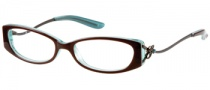 Guess GU 9029 Eyeglasses Eyeglasses - BRN: Brown Over Teal