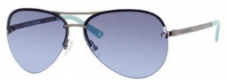 Juicy Couture Genre/s Sunglasses Sunglasses - OTP4 Gunmetal (AB Green Blue Gradient Lens)