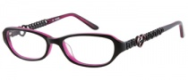Guess GU 9049 Eyeglasses Eyeglasses - BLK: Black Pink