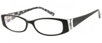 Guess GU 9057 Eyeglasses Eyeglasses - BLK: Black / White