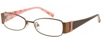 Guess GU 9058 Eyeglasses Eyeglasses - BRN: Brown Satin