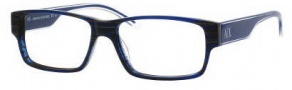Armani Exchange 145 Eyeglasses Eyeglasses - 0YPN Blue Crystal