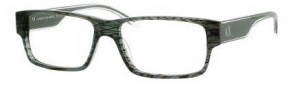 Armani Exchange 145 Eyeglasses Eyeglasses - 0YPM Gray Striated Crystal