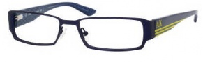 Armani Exchange 147 Eyeglasses Eyeglasses - 0HF5 Blue Matte