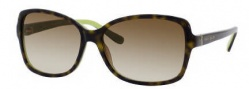 Kate Spade Ailey/S Sunglasses Sunglasses - 0DV2 Tortoise Kiwi / Y6 Brown Gradient Lens