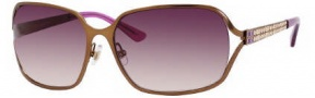 Kate Spade Aberta 2/S Sunglasses Sunglasses - 0EQ6 Satin Almond / Y6 Brown Gradient Lens