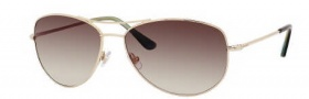 Kate Spade Ally 3/S Sunglasses Sunglasses - 03YG Gold / Y6 Brown Gradient Lens