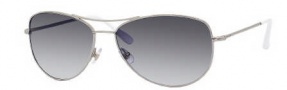 Kate Spade Ally 3/S Sunglasses Sunglasses - 0YB7 Silver / Y7 Gray Gradient Lens