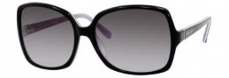 Kate Spade Aspen/S Sunglasses Sunglasses - 0FT6 Black Amethyst / Y7 Gray Gradient Lens