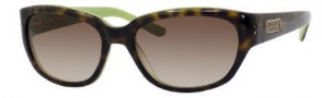 Kate Spade Bri/S Sunglasses Sunglasses - 0DV2 Tortoise Kiwi / Y6 Brown Gradient Lens