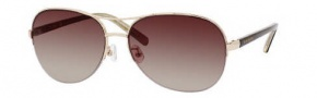 Kate Spade Brittany/S Sunglasses Sunglasses - 0P40 Brown / Y6 Brown Gradient Lens