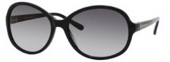 Kate Spade Caitlin/S Sunglasses Sunglasses - 0807 Black / Y7 Gray Gradient Lens