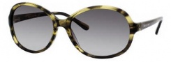 Kate Spade Caitlin/S Sunglasses Sunglasses - 01S3 Striated Olive / CR Olive Gradient Lens