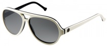 Gant GS MB Lax Sunglasses Sunglasses - WHT-95F: White Over Navy