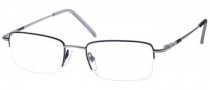 Gant G Clinton Eyeglasses Eyeglasses - BLK/AS: Black / Antique Silver
