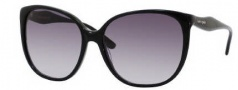 Kate Spade Chantal/S Sunglasses Sunglasses - 0807 Black / Y7 Gray Gradient