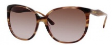 Kate Spade Chantal/S Sunglasses Sunglasses - 01N6 Striated Brown / Y6 Brown Gradient Lens
