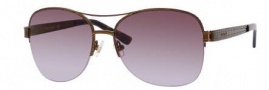 Kate Spade Dane/S Sunglasses Sunglasses - 01R9 Satin Light Brown / CO Brown Lavender Lens