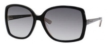Kate Spade Darryl/S Sunglasses Sunglasses - 0JBM Black Champagne / Y7 Gray Gradient Lens