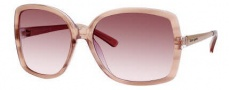 Kate Spade Darryl/S Sunglasses Sunglasses - 0JXU Pink Rose / RN Brown Pink Lens