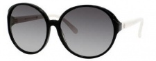 Kate Spade Ginette/S Sunglasses Sunglasses - 0FU8 Black Ivory / Y7 Gray Gradient Lens