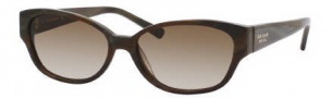 Kate Spade Halle/S Sunglasses Sunglasses - 0FA6 Brown Horn / Y6 Brown Gradient Lens