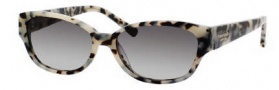 Kate Spade Halle/S Sunglasses Sunglasses - 0FE6 Speckled Tortoise / Y7 Gray Gradient Lens