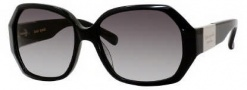 Kate Spade Jocelyn/S Sunglasses Sunglasses - 0807 Black / Y7 Gray Gradient Lens
