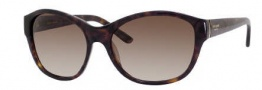 Kate Spade Lauralee/S Sunglasses Sunglasses - 0086 Tortoise / Y6 Brown Graident Lens