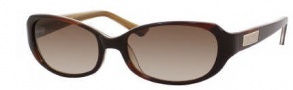 Kate Spade Lyla/S Sunglasses Sunglasses - 01M8 Crsytal Chocolate Butterscotch / Y6 Brown Gradient Lens