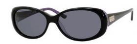 Kate Spade Sinclair/S Sunglasses Sunglasses - 1U5P Black Violet Pearl / RA Gray Polarized Lens