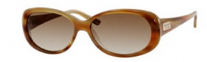 Kate Spade Sinclair/S Sunglasses Sunglasses - 01U8 Horn Pearl Mushroom / Y6 Brown Gradient Lens