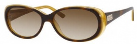 Kate Spade Sinclair/S Sunglasses Sunglasses - 0EE2 Tortoise Saffron / Y6 Brown Gradient Lens