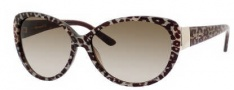 Kate Spade Soliel/S Suglasses Sunglasses - 01A5 Leopard / Y6 Brown Gradient Lens