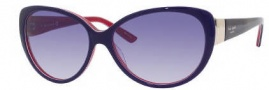 Kate Spade Soliel/S Suglasses Sunglasses - 0FV1 Navy Red / XO Navy Gradient Lens