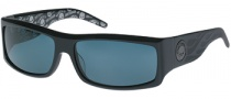 Harley-Davidson / HDX 805 Sunglasses Sunglasses - BLK-3: Black / LGUN / Grey