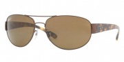 Ray-Ban RB3448 Sunglasses Sunglasses - 014/57 Brown Crystal / Brown Polarized