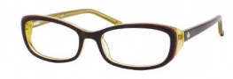 Kate Spade Magda Eyeglasses Eyeglasses - 0JXE Aubergine Yellow