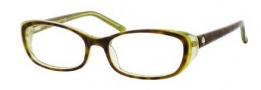Kate Spade Magda Eyeglasses Eyeglasses - 0ER2 Tortoise Pearl Green
