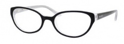 Kate Spade Tamra Eyeglasses Eyeglasses - 0JBH Black Silver Sparkle