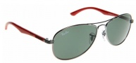 Ray-Ban Junior RJ9529S Sunglasses Sunglasses - 200/71 Gunmetal / Green (50 size only)