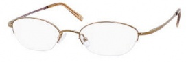 Liz Claiborne 302 Eyeglasses Eyeglasses - 01Q1 Brown Marble